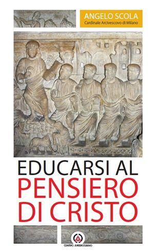 la copertina della lettera pastorale del cardinale Scola