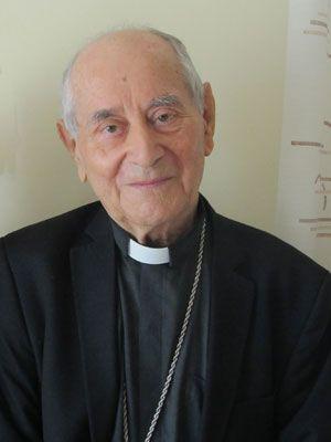 Padre Armando Bortolaso è vicario apostolico emerito dei Latini di Siria (foto Romina Gobbo).