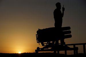 In Siria vengono usati anche sistemi d'arma complessi. Foto Reuters.