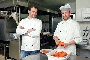 Altin e il fratello Anton Prenga.