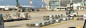 Un carico di bombe in partenza da Cagliari per l'Arabia Saudita.