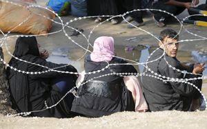 Sfollati in Iraq (Reuters).