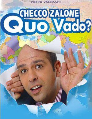 "La locandina del film ""Quo Vado?"""