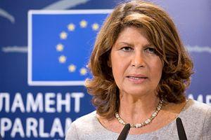 La parlamentare europea Silvia Costa, Presidente della Commissione cultura e istruzione, promotrice dell'iniziativa.