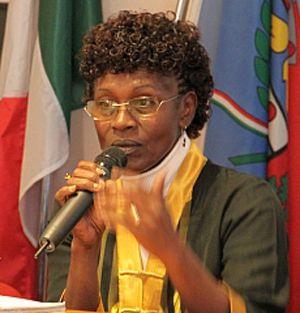 Yolande Mukagasana, sopravvissuta al genocidio. Vi perse tutta la famiglia.