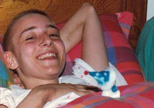 Un'immagine di Chiara Badano durante la malattia