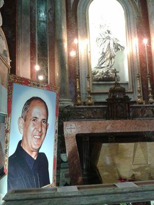 La tomba di padre Puglisi nella Cattedrale di Palermo