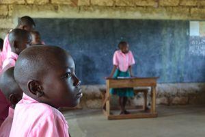 Una seduta del Parlamento dei Bambini.