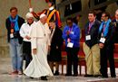 Pope Francis arrives34