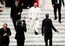 Pope Francis leaves9