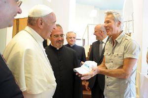Papa Francesco e Claudio Baglioni