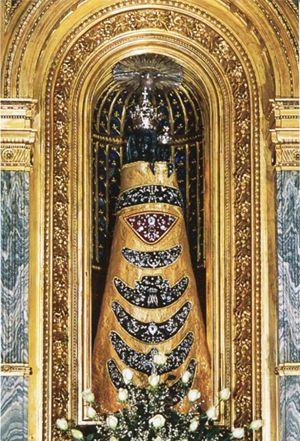 L'icona della Vergine di Loreto venerata nel Santuario