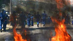 Scontri di piazza in Burundi: è in corso una dura repressione dal parte del Governo.