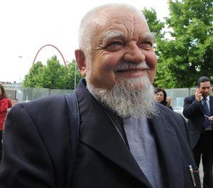 Enzo Bianchi, priore della comunità monastica di Bose. Foto Ansa.