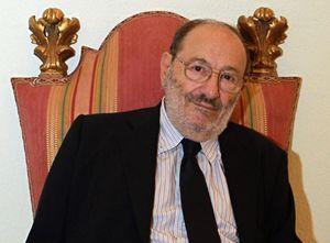 Umberto Eco. Foto Ansa.