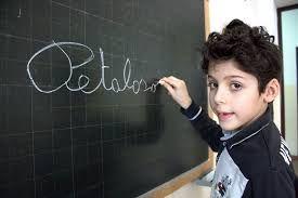 """il piccolo Matteo inventore di """"petaloso"""""""