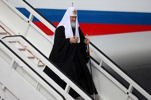 L'Avana, giovedì 11 febbraio 2016. Il Patriarca di Mosca e di tutte le Russie Kirill al suo arrivo a Cuba, all'aeroporto José Martí. Tutte le fotografie di questo servizio sono dell'agenzia Reuters.