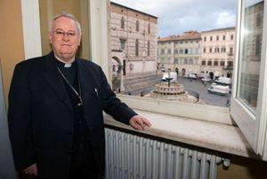 Il cardinale di Perugia Gualtiero Bassetti