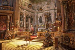 la Cappella del Tesoro di San Gennaro nel Duomo di Napoli