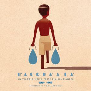 La copertina del libro illustrato da Emiliano Ponzi.