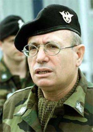 Il generale Fabio Mini, quando ancora indossava la divisa.