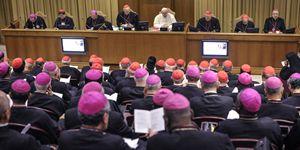 I lavori del Sinodo sulla famiglia con papa Francesco