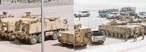 Forze armate saudite in Yemen.