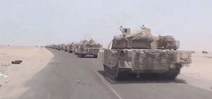 L'invasione via terra, dal porto di Aden.