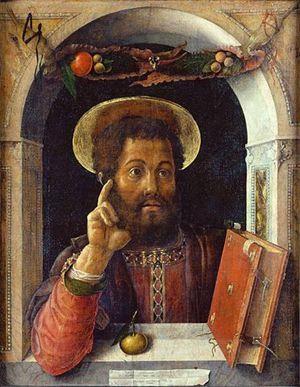 Andrea Mantegna, San Marco evangelista, Städelsches Kunstinstitut, Francoforte sul Meno