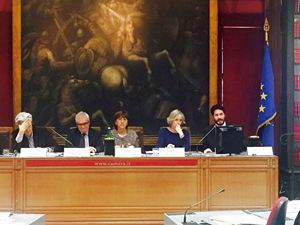 Un momento del convegno organizzato alla Camera.