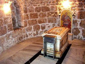 La tomba di san Giorgio presso Lod (Israele)