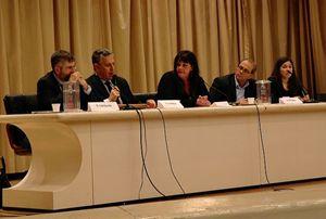 I relatori del convegno di Bergamo.
