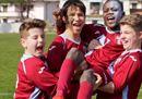 Tutti i colori del calcio, i bambini contro il razzismo in campo