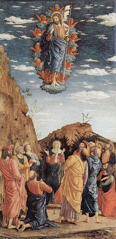 Andrea Mantegna, Ascensione, 1460, Galleria degli Uffizi, Firenze