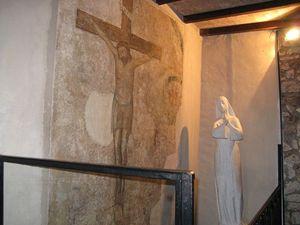 Crocifisso dinanzi al quale, secondo una tradizione, santa Rita si ritrovò stimmatizzata