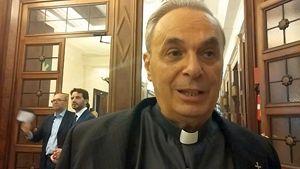 Monsignor Alberto D'Urso, presidente della Fondazione Antiusura.