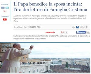 """L'articolo pubblicato su """"Il Giornale""""."""