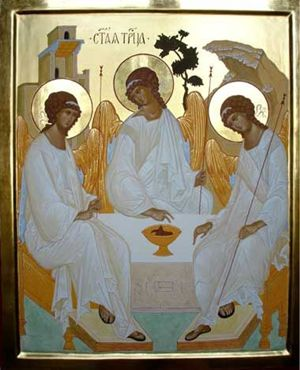 Santa Trinità, icona