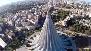 Il Santuario della Madonna delle Lacrime a Siracusa