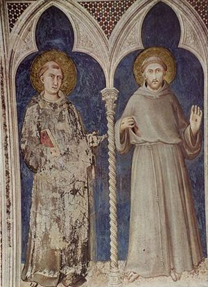 san Francesco e sant'Antonio