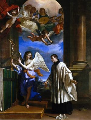 Guercino, La vocazione di San Luigi Gonzaga