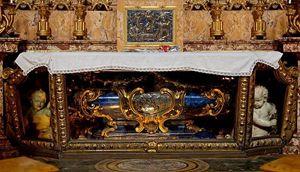 La tomba di San Luigi Gonzaga in Sant'Ignazio a Roma
