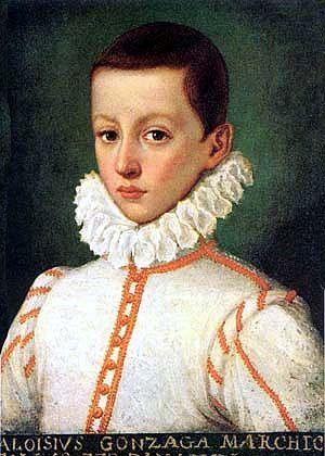 Ritratto giovanile di Luigi Gonzaga, artista ignoto XVII secolo