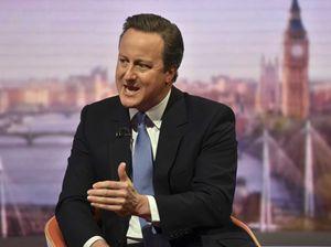 Il primo ministro David Cameron che ha voluto il referendum
