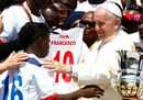 Pope Francis greets4