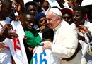 Pope Francis greets7