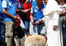 Pope Francis talks9