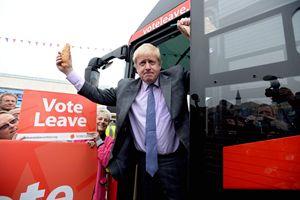 L'ex sindaco di Londra Boris Johnson favorevole all'uscita dall'Europa