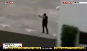 Un'immagine dell'attentatore. Foto Ansa.