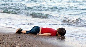 Il piccolo Aylan, affogato al largo di Bodrum